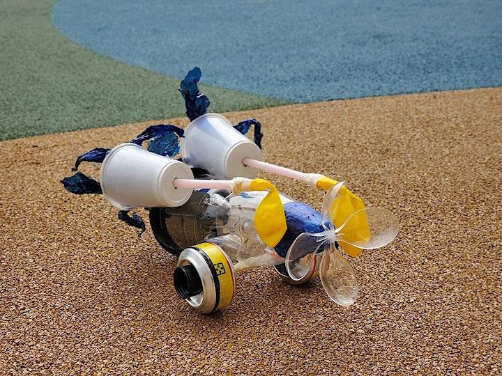 Balloon-powered Trash Racers  氣動廢物再造車 image
