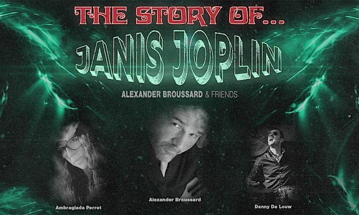 Afbeelding van Alexander Broussard & Friends: The Story of Janis Joplin