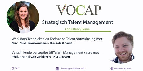 VOCAP Themareeks Strategisch talent Management | Deel 2: Consultancy Sessie tickets