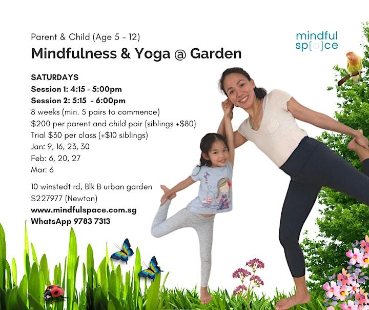 Family Mindfulness & Yoga @ Garden image