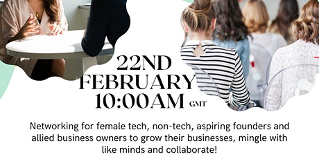 Female Techpreneur Networking tickets