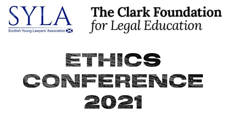 Ethics Conference 2021 - Session 3 - Sponsored by The Clark Foundation tickets
