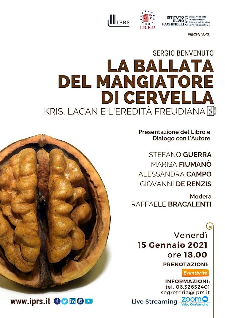 """Immagine """"La ballata del mangiatore di cervella"""" di Sergio Benvenuto"""