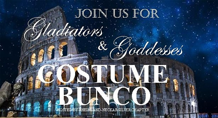 Gladiators & Goddesses BUNCO - Hosted by Rheinland - Neckar Silver Chapter image