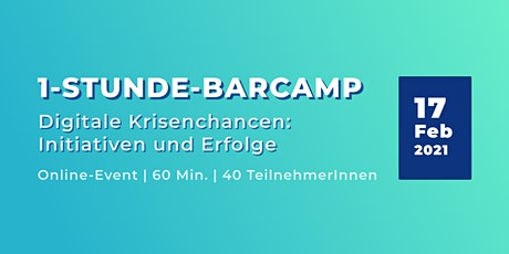6. 1-Stunde-Barcamp: Digitale Chancen in der Corona-Krise Tickets
