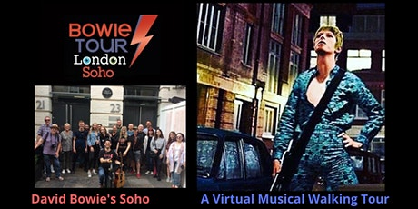 David Bowie's Soho - A Virtual Musical Walking Tour ingressos