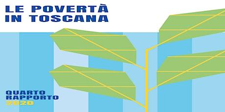 Presentazione Quarto Rapporto sulle Povertà in Toscana e Dossier Caritas biglietti