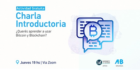 Charla introductoria a Bitcoin y Blockchain boletos
