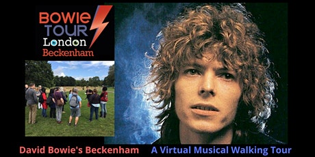 David Bowie's Beckenham - A Virtual Musical Walking Tour ingressos