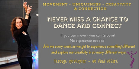 Join me for a FEEL good dance party from the comfort of your home. tickets