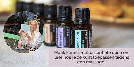 Masterclass massage & essentiële oliën tickets