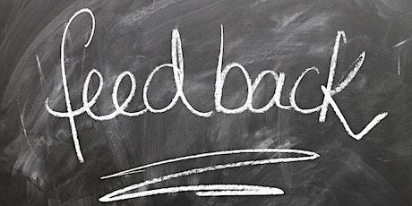 FEEDBACK-KULTUR im virtuellen Circle für Kreative und Unternehmer Tickets
