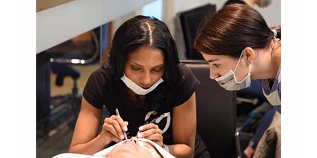 Top Notch Eyelash Extension's  Lip Bush & Microshading Training Workshop tickets
