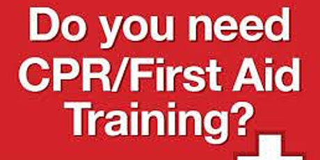 CPR/FIRST AID CLASS tickets