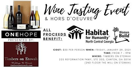 Wine Tasting Fundraiser: Habitat-NCG Women Build boletos