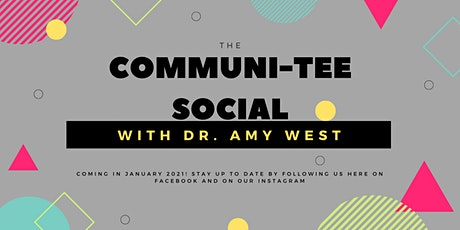 Monthly 'TLW Communi-TEE Social': Dr Amy West! tickets
