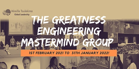 The Greatness Engineering Mastermind Group tickets