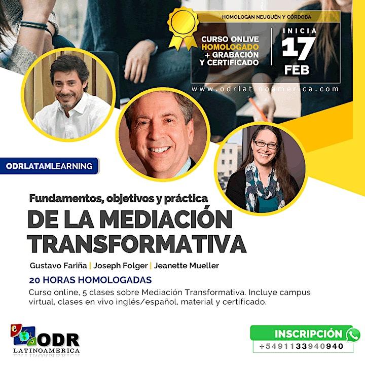 Fundamentos, objetivos y práctica de la Mediación Transformativa 2021 image