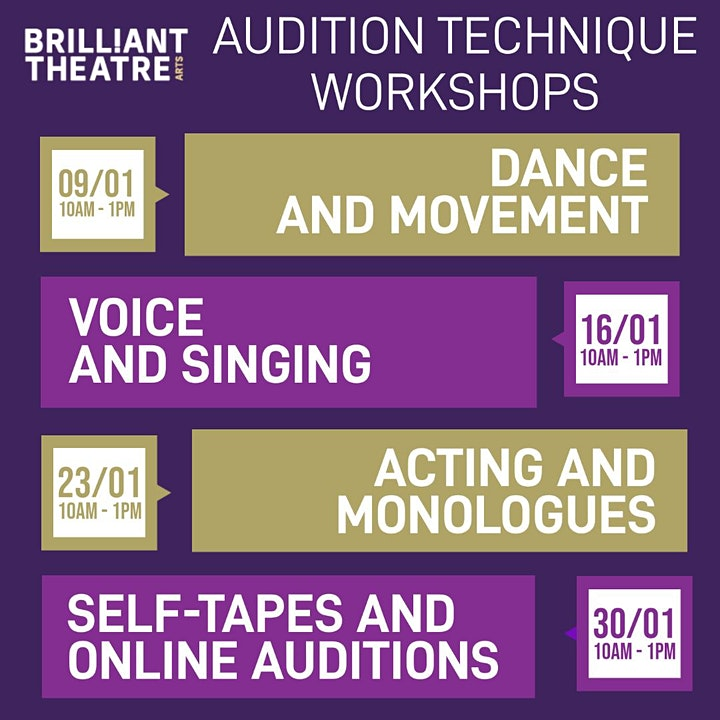 Audition Technique - Acting and Monologues image
