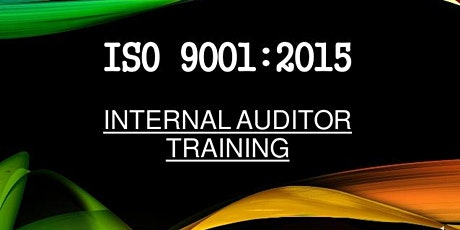 ISO 9001:2015 Quality Management System Internal Auditor tickets