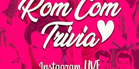 Rom Com Trivia on Instagram LIVE tickets