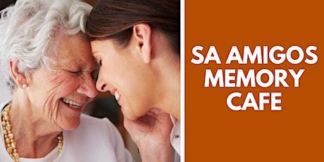 SA Amigos Memory Cafe: April tickets