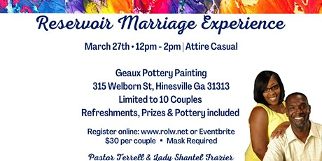 Reservoir Marriage Experience tickets