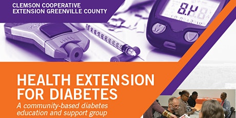 Health Extension for Diabetes- Online tickets