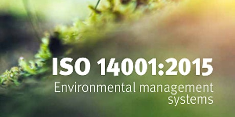 ISO 14001:2015 Environmental Management System Internal Auditor tickets