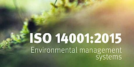 ISO 14001:2015 Environmental Management System Internal Auditor boletos