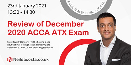 Review Of December 2020 ACCA Advanced Tax (UK) Exam tickets