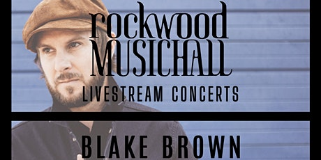 Blake Brown - Facebook Live - THANK YOU for your generous donation. tickets