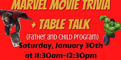 Table Talk Fatherhood tickets