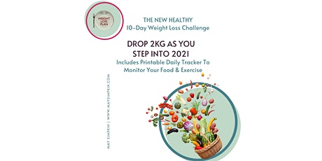 10 day 2kg Weight Loss Challenge tickets