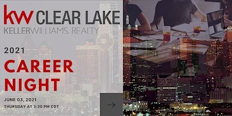 June 2021 Career Night at Keller Williams Clear Lake tickets