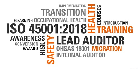 ISO 45001:2018 Internal Auditor Course tickets