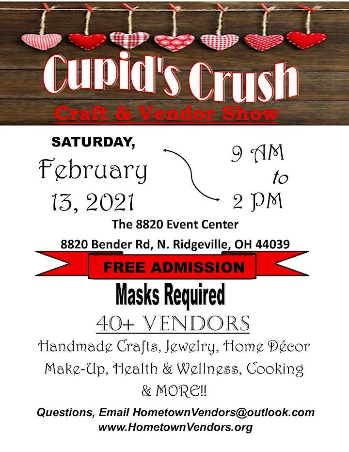 Cupids Crush Craft & Vendor Show image