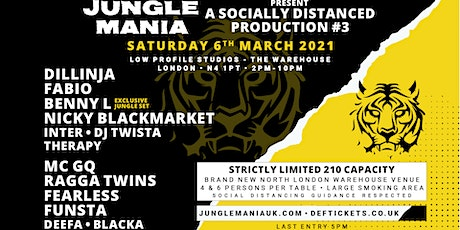 Jungle Mania presents a Socially Distanced Production #3 tickets