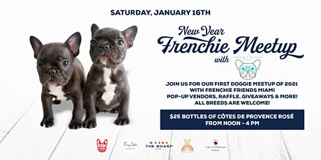 New Year, Frenchie Meetup at The Wharf Miami tickets