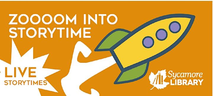 Zoooom Into Preschool Storytime image