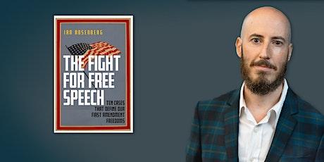 Ian Rosenberg | The Fight for Free Speech tickets