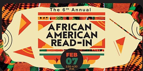 6th Annual African American Read-In tickets