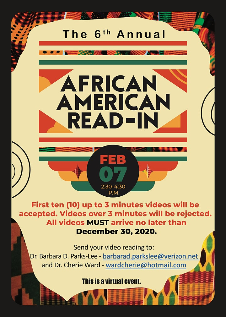 6th Annual African American Read-In image