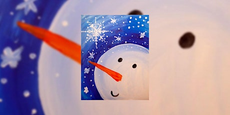 Happy Snowman – Free Virtual Paint Day for Kids tickets