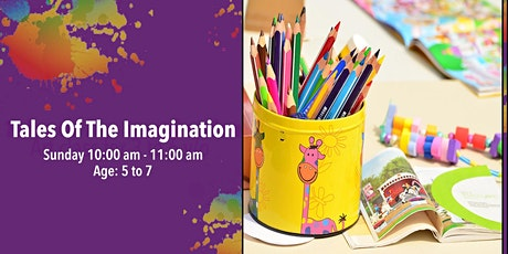 Tales of The Imagination: Art Class for 5 to 7 year olds. tickets