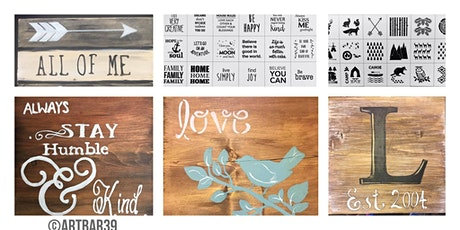 Public Rustic Quote Art Party tickets