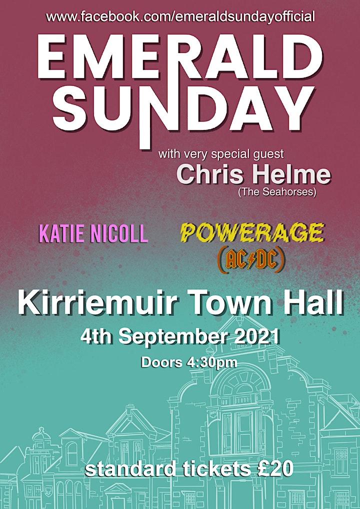 Emerald Sunday + Chris Helme Live at Kirriemuir Town Hall image
