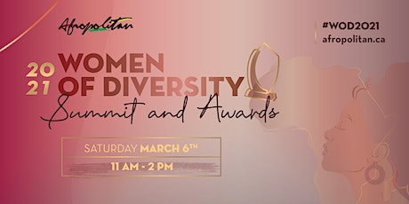 Women of Diversity Summit and Awards 2021 tickets