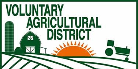 Voluntary Agriculture District Info Session Online Jan 2021 tickets