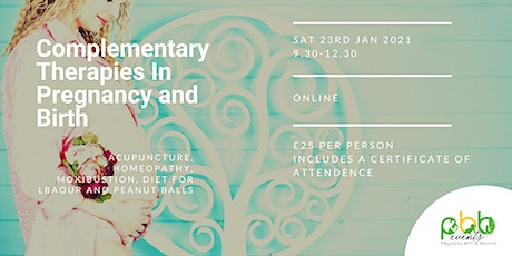 Complimentary Therapies For Labour & Birth - Birth Professionals tickets